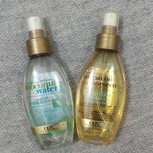 💜2/$25💜 Hair oils coconut water and argan oil